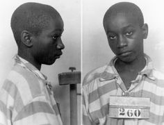 14-year old George Stinney, Jr. executed for murder in 1944.