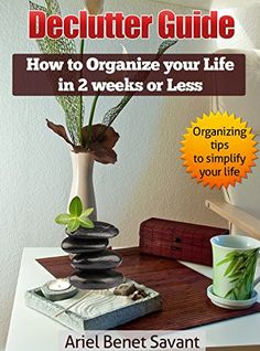 Declutter Guide: How to Organize Your Life in 2 Weeks or Less: Organizing Tips to Simplify your Life by [Savant, Ariel Benet]