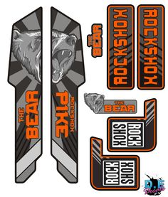 Take a look at some of our Custom Rockshox, Fox suspension, Bos Suspension & X Fusion moutain bike fork decals. Mountain Bike Forks, Mountain Biking, Fox Racing Logo, Moutain Bike, Bike Stickers, Aesthetic Shirts, Car Wrap, Motocross, Sticker Design