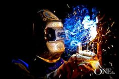 individual shots reference - side profile / welding / smoke / fire / sparks