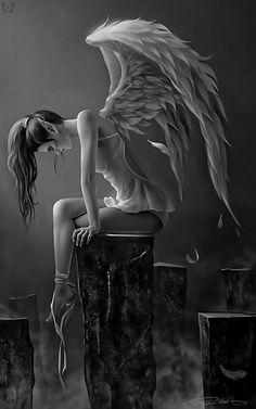 whitesoulblackheart: Angel of Sorrow / Lady Mamaru (Please leave credit … Ƹ̴Ӂ̴Ʒ)