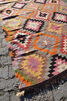 Amazing kilim rug