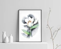 Painting Prints, Watercolor Paintings, All Print, Paper, Frame, Wall, Picture Frame, Frames, Watercolor Painting