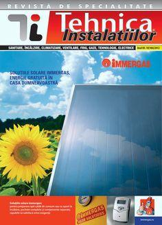 Revista Tehnica Instalatiilor nr. 10_106_2012 Desktop Screenshot, Solar, Journals