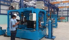 Transformer Fin Welding Machine