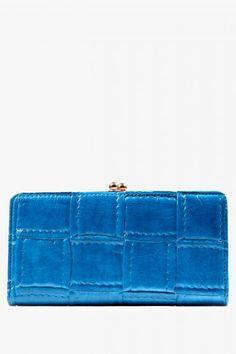 Sky High Textured Wallet