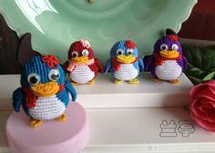 pingüino #macrame