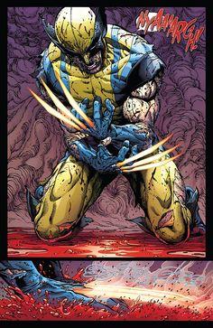Return Of Wolverine (of - Marvel Comics Logan Wolverine, Marvel Wolverine, Marvel Art, Marvel Heroes, Logan Xmen, Wolverine Movie, Marvel Comic Universe, Comics Universe, Comic Books Art