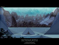 Koyakatsi: Concept Art by Ayoub Qanir, via Behance