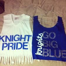 Image result for best painted school spirit rock knights