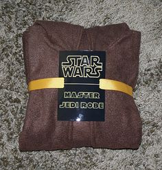 Master Jedi Robe ( you have to do this if you make the robe)
