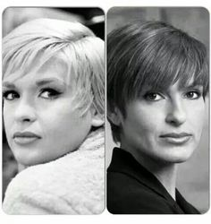 Mariska Hargitay's mother Jayne Mansfield side by side Mariska Hargitay so beautiful