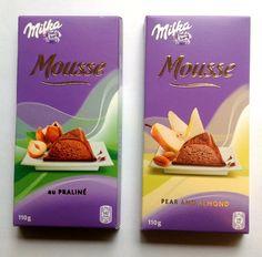 Milka Mousse Chocolates