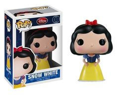 Available in: Item.Bring home this collectable Disney POP! Snow White Vinyl Figure, developed by Disney and Funko. Collect all 12 Disney POP! Disney Pop, Disney Pixar, Snow White Disney, Figurine Pop Disney, Pop Figurine, Funko Pop Dolls, Funko Toys, Toy Art, Pop Vinyl Figures