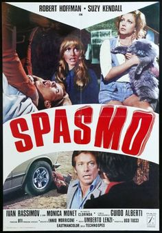 spasmo 1974 director by umberto lenzi Sf Movies, Scary Movies, Horror Movie Posters, Horror Films, Film Archive, Cinema Film, Monster Girl, Vintage Movies, Suzy