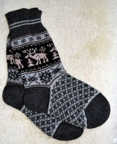 Your place to buy and sell all things handmade Cozy Socks, Sheep Wool, Diy Projects To Try, Warm And Cozy, Reindeer, Folk Art, Scandinavian, Diy And Crafts, Vibrant Colors