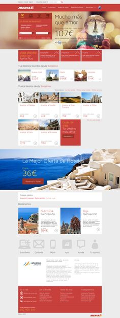 Nueva web iberia.com