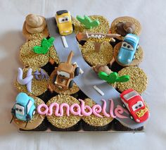 Annabelle's Disney Cars by Its A Cake Thing (Jho), via Flickr