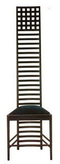 BRILLIANT! Charles Rennie Mackintosh Hilltop chair, 1897