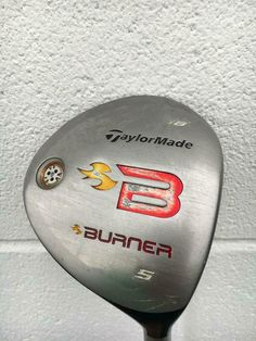 TaylorMade Burner 2009  #5 Fairway Wood, R H~RE AX REGULAR  FLEX GRAPHITE SHAFT~ #TaylorMade Ladera Ranch, Taylormade, Graphite, Golf Clubs, Wood, Ebay, Graffiti, Woodwind Instrument, Timber Wood