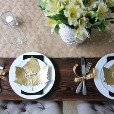 Easy, Inexpensive DIYs for Your Thanksgiving Table