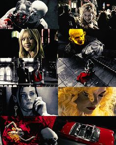 Sin City (Frank Miller, Robert Rodriguez & Quentin Tarantino) - 2005 Sin City Movie, I Movie, Frank Miller Sin City, Anthology Film, Tales From The Crypt, Mood Colors, City Scene, Great Films, Video Clip
