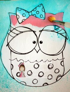 Crafty Little Pigtails: Owl love you forever...and a little tutorial...