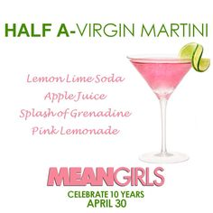19 Ideas Pink Bridal Shower Food Girls Night For 2019 Mean Girls Party, Mean Girls Movie, Valentine's Day Party Games, Girls Getaway, Bday Girl, Pink Parties, Valentines Day Party, Party Ideas, Cocktails