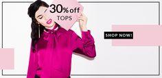 Suzy Shier Canada Deal: Save 30% On Regular-Priced Tops http://www.lavahotdeals.com/ca/cheap/suzy-shier-canada-deal-save-30-regular-priced/123229