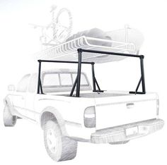 Yakima Outdoorsman, Yakima Truck Rack, Yakima 1136 $188 + round bars cost...