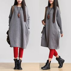 Loose Fitting Cotton Jacket Coat