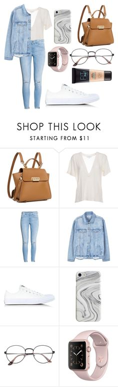 """s p r i n g   s t y l e"" by foodiefashion ❤ liked on Polyvore featuring ZAC Zac Posen, IRO, H&M, MANGO, Converse, Recover, Maybelline, ootd, SpringStyle and 2017"