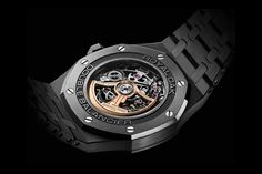 Audemars Piguet Openworked Black Ceramic Model Info | HYPEBEAST
