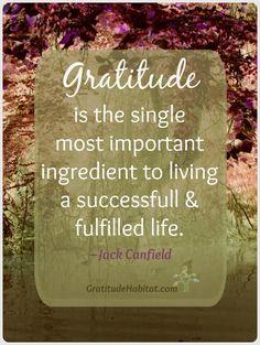 Gratitude - Jack Canfield