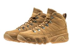 "Air Jordan ""NRG boot"" Wheat IX 313a04cf2"