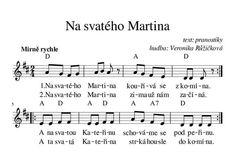 Martini, Sheet Music, Martinis, Music Sheets