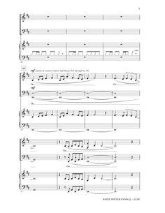 pentatonix white winter hymnal sheet music