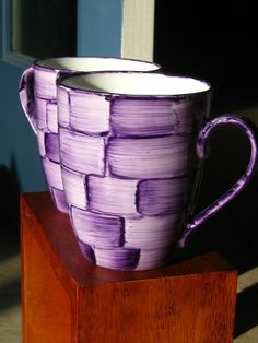 Brushstrokes Mug Set