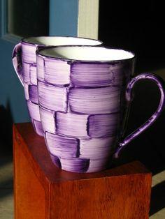 Brushstrokes Mug Set