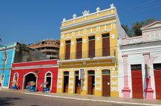 Corumbá, Mato Grosso do Sul, Brasil - casario do porto