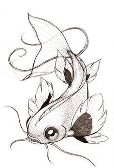 poissons japonais dessin poisson