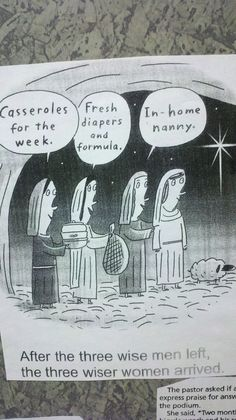 After the Three Wise Men left...