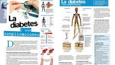 La diabetes y sus complicaciones #infografia #infographic #health