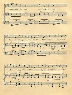 Images d'autrefois: partition de musique ancienne