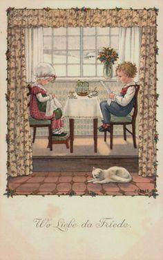 Pauli Ebner (1873-1949) — Old Post Cards (602x960)