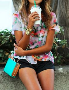 Super cute outfit #clothes #Summer