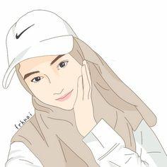 hijab art hijab art art, hijab drawing and islamic art - muslimah sketch Muslim Girls, Muslim Women, Girl Cartoon, Cartoon Art, Tmblr Girl, Hijab Drawing, Islamic Cartoon, Anime Muslim, Hijab Cartoon