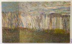 Dry Drifting Shadows: Alpujarras 2010 by textile artist Jeanette Appleton
