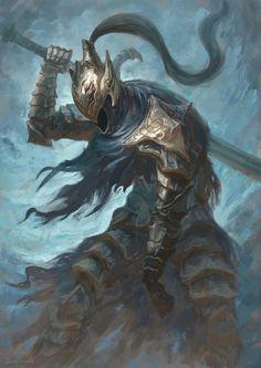ArtStation - Artorias the Abysswalker - Dark Souls, Juan Acosta Dark Souls 2, Arte Dark Souls, High Fantasy, Dark Fantasy Art, Dark Art, Legolas, Dark Souls Artorias, Soul Saga, Bloodborne Art