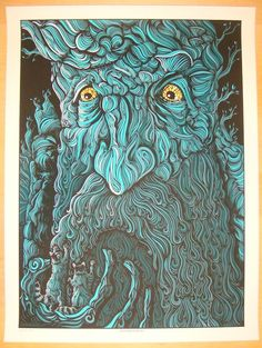 """2012 """"Lord of the Rings"""" - Silkscreen Art Print by Todd Slater 